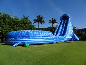 Feel The Hurricane! 40 Foot Monstrosity.  Our slides are the biggest, and the best!